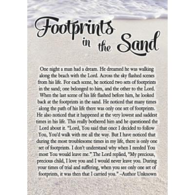 Footprints Notebook