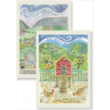 Hannah Dunnett Under His Wings & Psalm 121 Notecards
