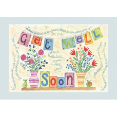 Hannah Dunnett Get Well Soon Card
