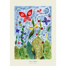 Hannah Dunnett Great Delight Card