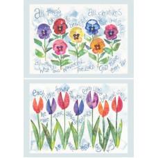 Hannah Dunnett Notecards - Bright And Beautiful & Each Little Flower