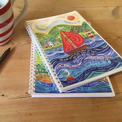 Hannah Dunnett Notebook - Bless You And Keep You