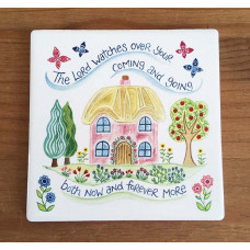 Hannah Dunnett Coaster - The Lord Watches Over You