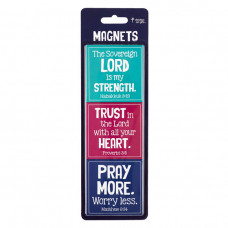 Magnet Set - The Lord Is My Strength