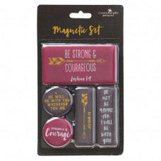 Magnet Set - Be Strong And Courageous