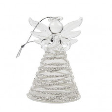 Glass Angel With Circles Skirt