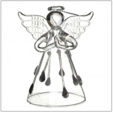 Glass Angel With Droplet Skirt