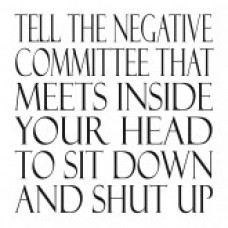 Tell The Negative Committee Notebook