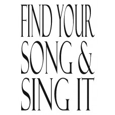 Find your Song and Sing it Notebook