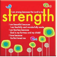 Strength Fridge Magnet