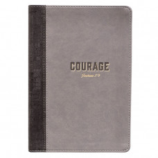 Courage Lux Leather Journal