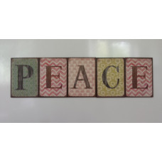 Magnetic Letters PEACE