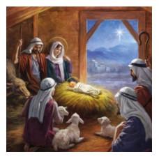 Christmas Card 10 Pack - Shepherds Visit