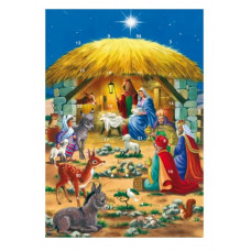 Advent Calendar Card - Nativity