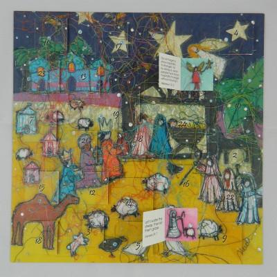 Advent Calendar Nativity Night