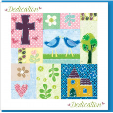 Dedication Patchwork Card