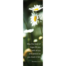 Bible Bookmark - May The God Of Hope