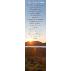 Bible Bookmark The Lord's Prayer Sunrise