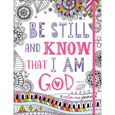 Be Still And Know Colouring Journal