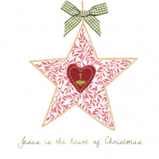 Christmas Cards 10 Pack - Heart Of Christmas