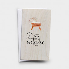 Christmas Cards 10 Boxed - Adore Him