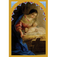 18 Boxed Christmas Cards - Mary & Jesus Old Master Cards