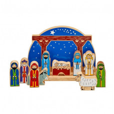 Starry Night Nativity Set