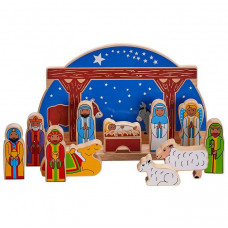 Starry Night Nativity Set Deluxe