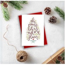 Christmas Cards 10 Pack Assorted - Adore Him