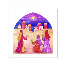 Christmas Cards 10 Pack - Wise Men