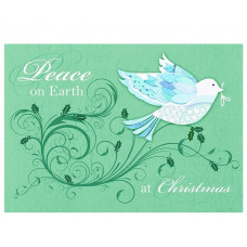 Christmas Cards 10 Pack - Peace On Earth