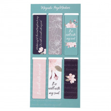 It Is Well Magnetic Bookmark Set