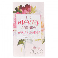 2020 Pocket Planner - His Mercies Are New Every Morning