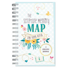 The Scripture Memory Map For Teen Girls Creative Journal