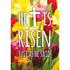 Charity Easter Cards - He Is Risen (pack of 5)