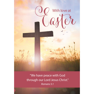 Easter Cards - With Love At Easter (pack of 5)
