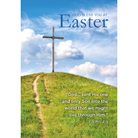 Easter Cards - God Bless You At Easter (pack of 5)