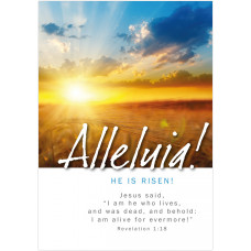 Easter Cards - Alleluia! (pack of 5)