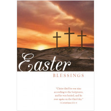 Easter Cards - Easter Blessings (pack of 5)