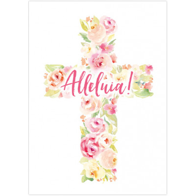 Easter Mini Cards - Alleluia! (pack of 5)