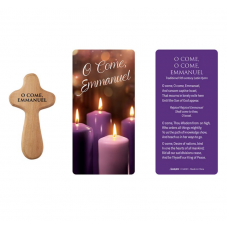 Advent Holding Cross and Prayer card