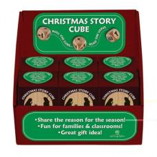 Large Christmas Story Prayer Cube