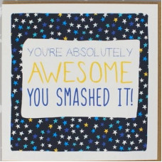 You Are Absolutely Awesome! Congratulations Card