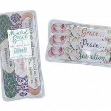 Abundant Grace: Set of  3 Emery Boards
