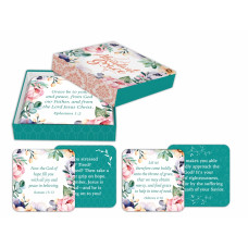 Abundant Grace Scripture Cards In Keepsake Box