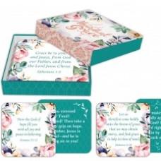 Abundant Grace Scripture Cards in keepsake Box