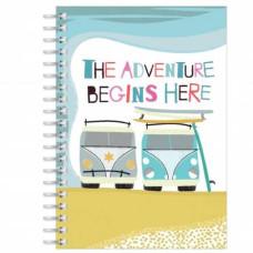 The Adventure Begins Notebook