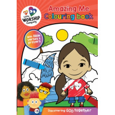 Little Worship Company Amazing Me Colouring Book