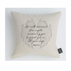 Angel Wings Guard You Cushion