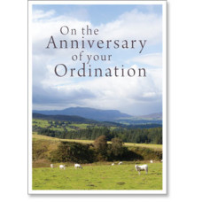 Anniversary Of Your Ordination Card